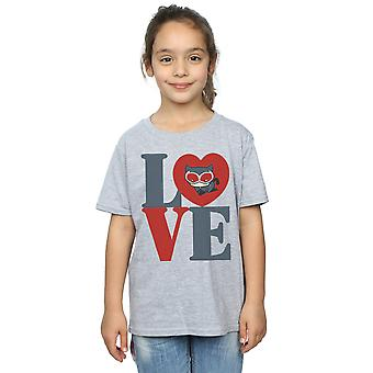 DC Comics Girls Chibi Catwoman Liebe T-Shirt