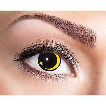 Lentilles de contact de clair de lune Moon Star