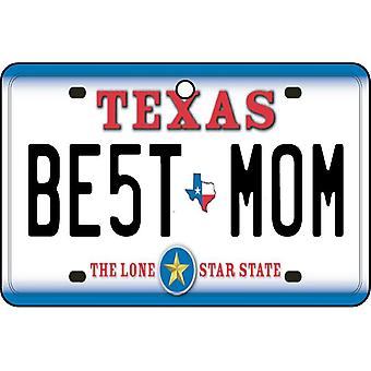 Texas - beste mamma nummerskilt bil Air Freshener