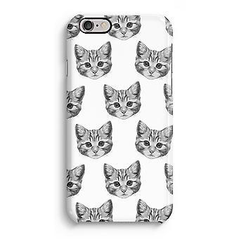 Caso iPhone 6 6s caso 3D (brilhante)-gatinho