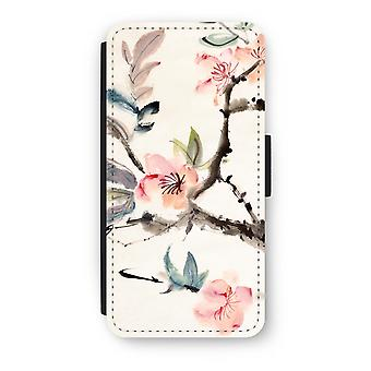 iPhone 6/6 s Plus Case Flip - Japenese fleurs