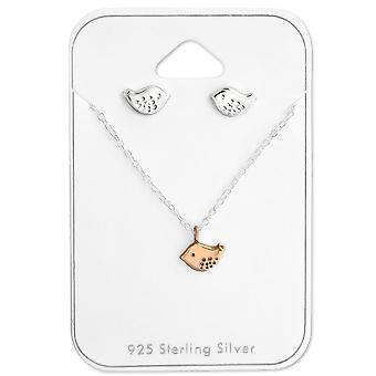 Bird - 925 Sterling Silver Sets - W28961x