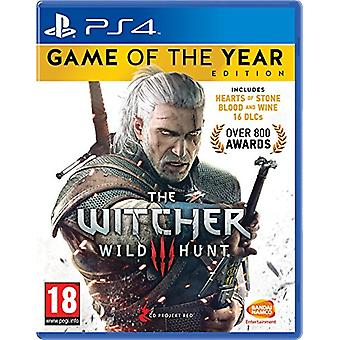 The Witcher 3 game of the Year Edition (PS4)-nieuw