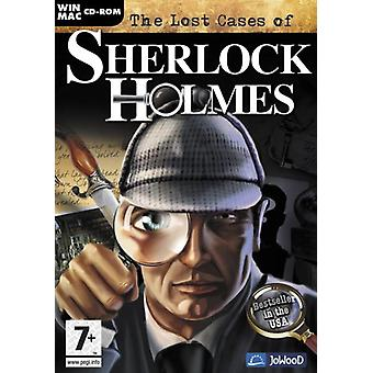 The Lost Cases of Sherlock Holmes (MacPC CD) - New