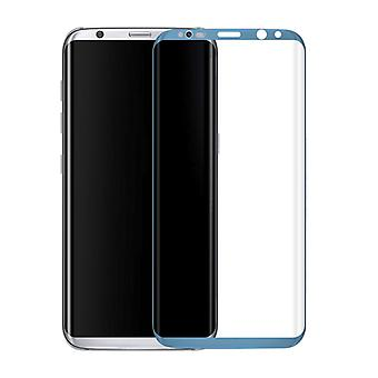 Premium 0,3 mm karkaistu lasi kaarevat sininen film Samsung Galaxy S8 sekä G955 G955F