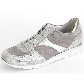 Semler Nelly Perle Chrom Silber Metall Crash Samt Chevreau N8115580902 universal all year women shoes