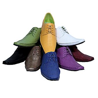 Halbschuh Elvis Spitzenschuh Dandyschuh zum Anzug 8 Farben 6 Größen DELUXE