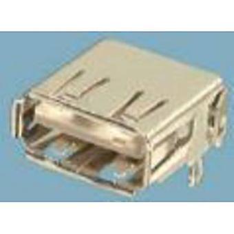 Mounted socket type A USB 2.0 Socket, horizontal mount USB 1 Port 87520-0010BLF FCI Content: 1 pc(s)