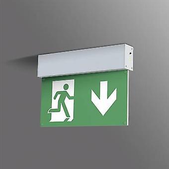B-SAFETY BR 559 030 menekülési útvonal-világítás mennyezeti felülettartó