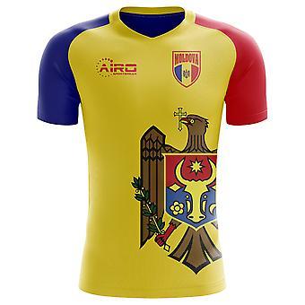 2018-2019 Mołdawia Strona Główna Concept Koszulka piłkarska - Little Boys