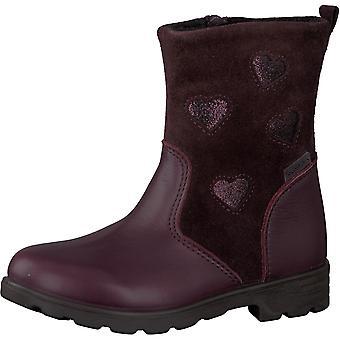 Ricosta Girls Stephanie RicostaTex Waterproof Boots Brombeer Burgundy