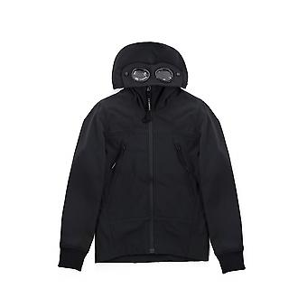 C.P. Company Undersixteen Navy Soft Shell Goggle Jacket