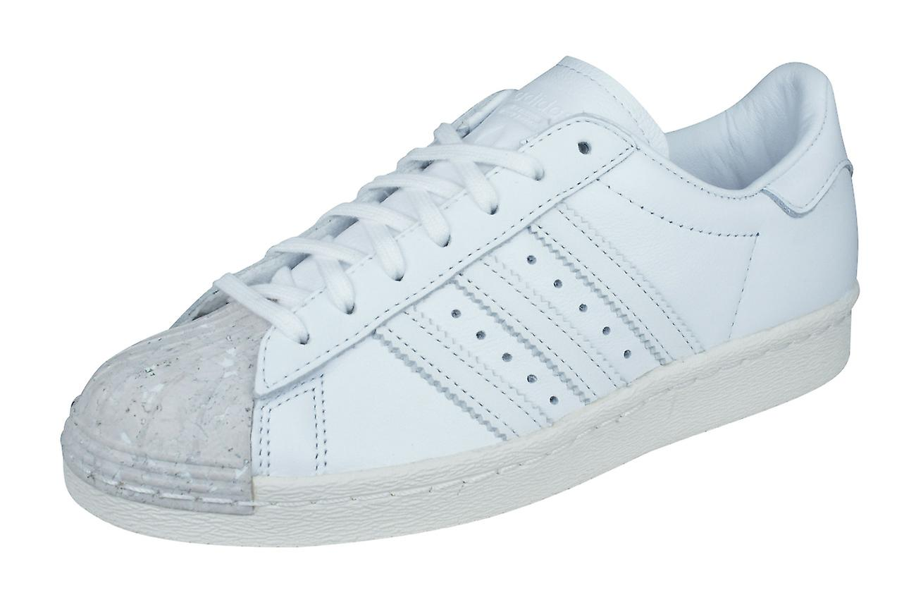 huge discount 4356f a9ccf Adidas Originals Superstar 80er Jahre Kork Damen Leder Trainer / Schuhe -  weiß