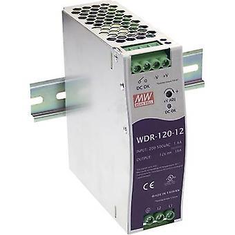 Mean Well WDR-120-24 Schienennetzteil (DIN) 24 V DC 5 A 120 W 1 x