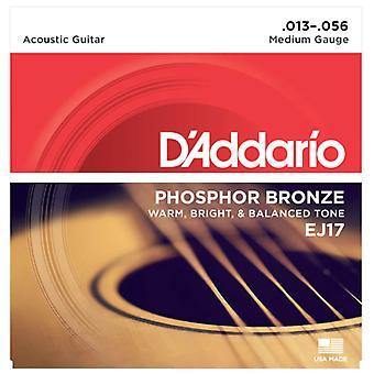 D'Addario Acoustic Medium 13-56
