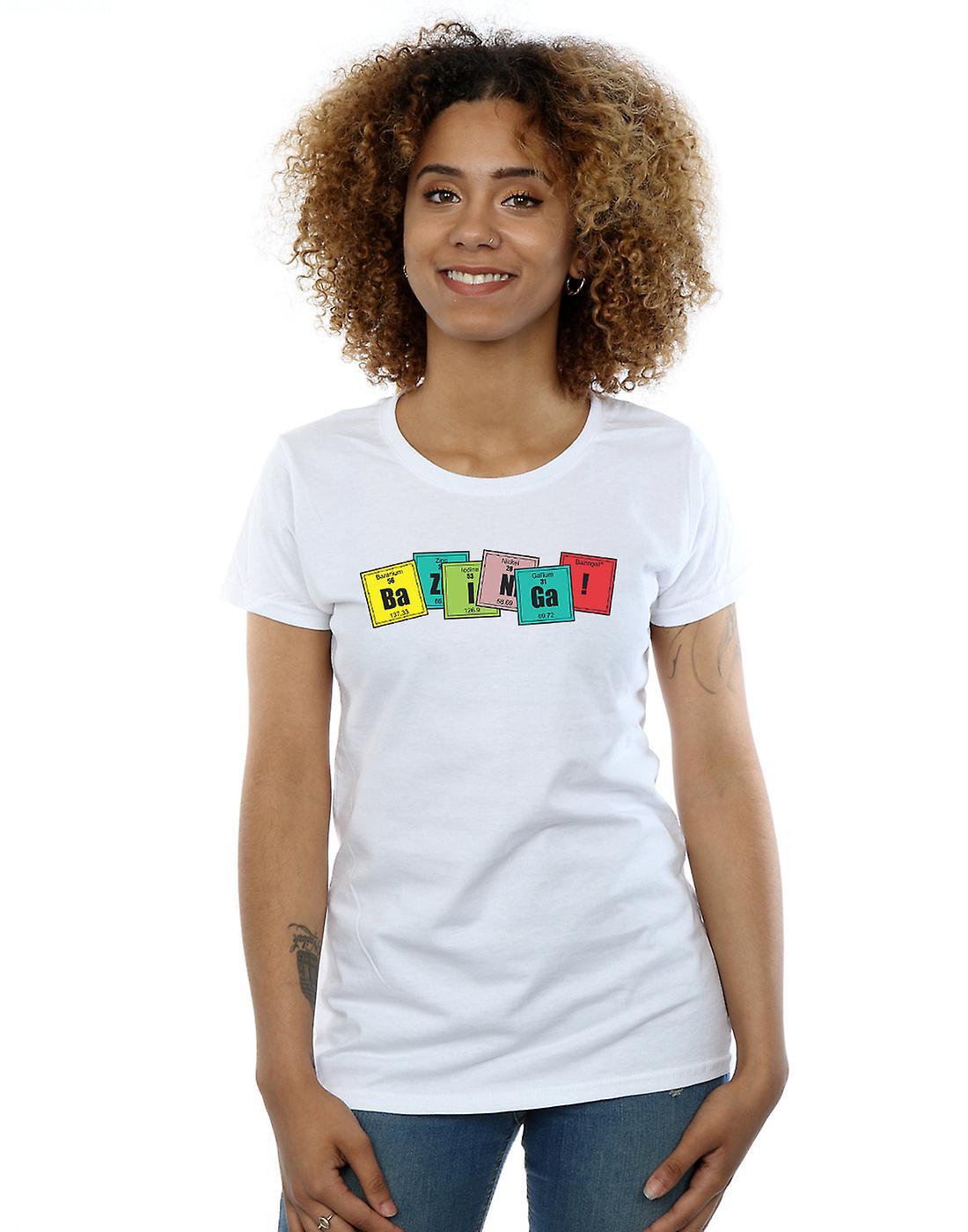 The Big Bang Theory Women's Bazinga Elements T-Shirt