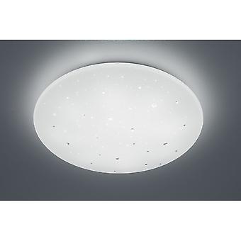 Трио, освещение Achat современный белый пластиковый потолок лампа