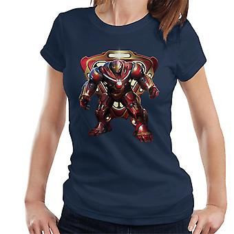 Marvel Avengers Infinity War Hulkbuster Battle Ready Women's T-Shirt