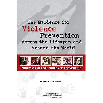Le prove per la prevenzione della violenza attraverso la durata della vita e del mondo: Workshop Summary