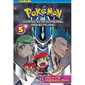 Pokemon Diamond and Pearl aventure !, Volume 5