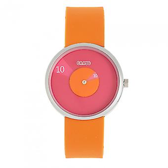 Crayo Pinwheel Unisex Watch - Orange