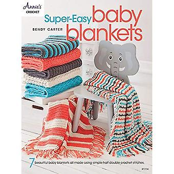 Super-Easy Baby Blankets: 7� Beautiful Baby Blankets All Made Using Simple Half� Double Crochet Stitches