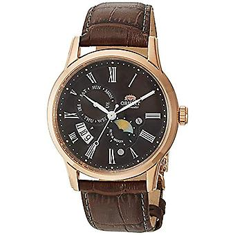 Orient Automatic Analog Man with a leather strap FAK00003T0