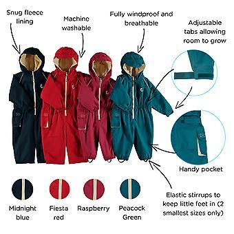 Wodoodporny Hippychick lekceważyć pokryte wszystko w jednym Rainsuit, Splashsuit, kombinezon zimowy dla dzieci – zasadnicze odkryty odzieży
