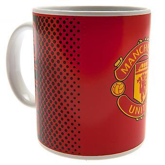 Manchester United FC fade Mug