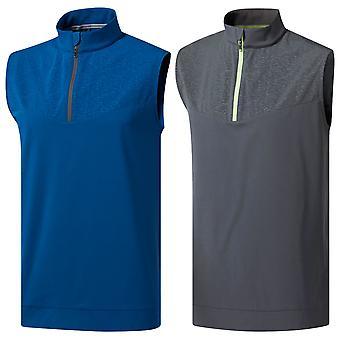 Adidas Golf Mens 2019 Camo impression gilet de vent