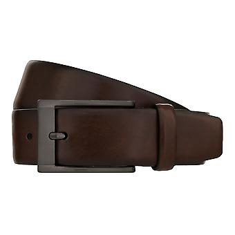 MONTI MARRAKESCH Belt Men's Belt Leather Belt Brown 8041