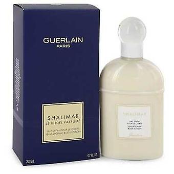 Shalimar af Guerlain body lotion 6,7 Oz (kvinder) V728-401499