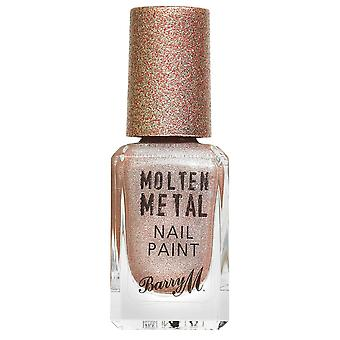 Barry M Molten Metal Nail Polish Collection - Holographic Moon (MTNP13) 10ml