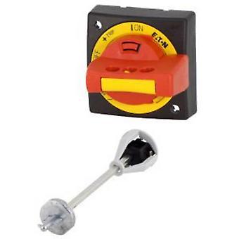 Uchwyt obrotowy Eaton PKZ0-XRH Zamykany (L x W x H) 64 x 64 x 54 mm czerwony, żółty 1 szt.