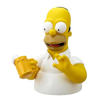 Coin Bank - Simpson - Homer With Beer Mug New Licensed 27703