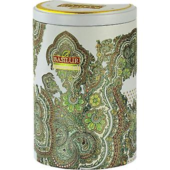 Witte maan Oolong groene losse thee in tin Caddy X 100g