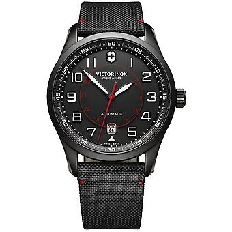 Victorinox airboss Swiss Automatic Analog Man Watch with Nylon Bracelet V241720
