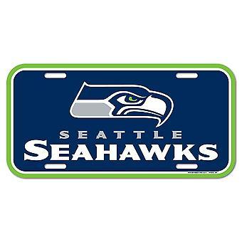 Wincraft NFL kentekenplaat-Seattle Seahawks