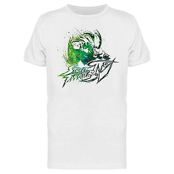 Street Fighter Blanka Art tee Men ' s-Capcom designs