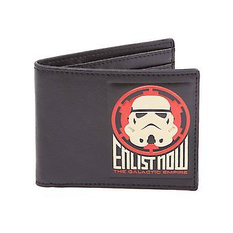 Tähtien sota-lompakko Galaktinen Imperiumi Enlist nyt uusi virallinen Black bifold