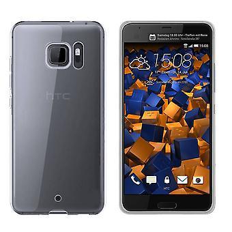 HTC U Ultra Silicone Case Transparent - CoolSkin3T