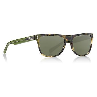 Dragon Alliance Brake Tokyo Tortoise Frames with Smoke Lens Sunglasses