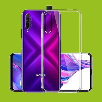 For Huawei Honor 9X/9X Pro silikone sag TPU beskyttende gennemsigtig sag Cover sag tilbehør ny