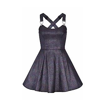 Collectif Clothing Rochelle Oilslick Skater Dress