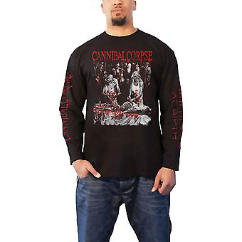 Cannibal Corpse T Shirt Butchered At Birth 2019 Official Mens Black Long Sleeve