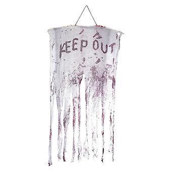 Halten Sie blutige hängende Dekoration Fancy Dress Zubehör