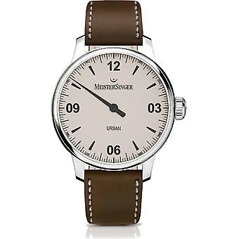 MeisterSinger Men's Watch Shape and Style Urban One-Hand Watch Automatic UR913_SKK02
