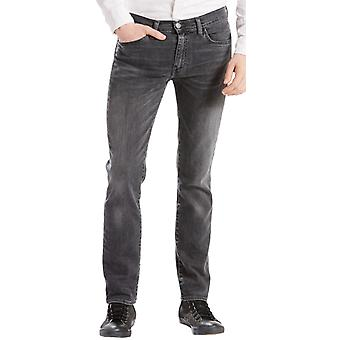 Levi's 511 Slim Fit Denim Jeans Headed East Grey 40
