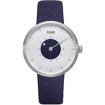 M & M Tyskland M11950-923 Desugn line damer klocka