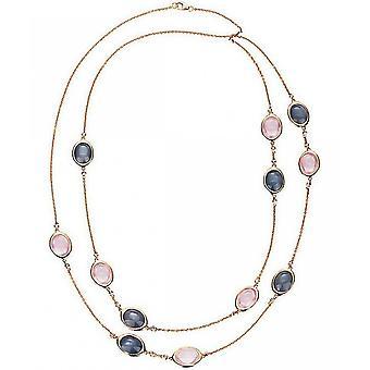 الماس الأحجار الكريمة كولير كولير - 18K 750/- الذهب الأحمر - 0.36 قيراط. - 54.23 قيراط.
